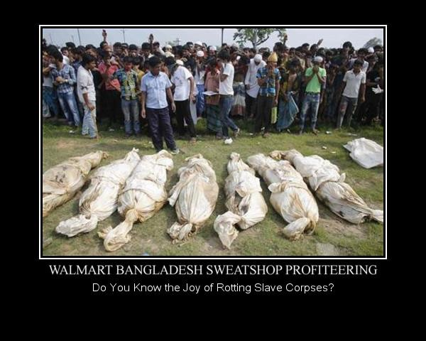 Walmart Bangladesh Sweatshop Deaths in April 2013